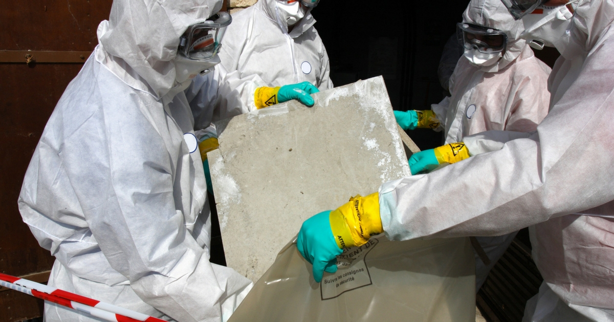 Removing Asbestos - Asbestos Testing in Utah - Utah Flood Cleanup
