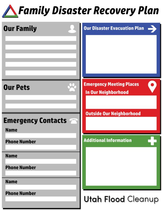 Family-Disaster-Recovery-Plan-Flyer