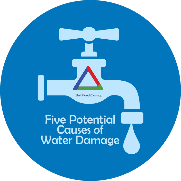 5 Potential Causes of Water Damage Five Potential Causes