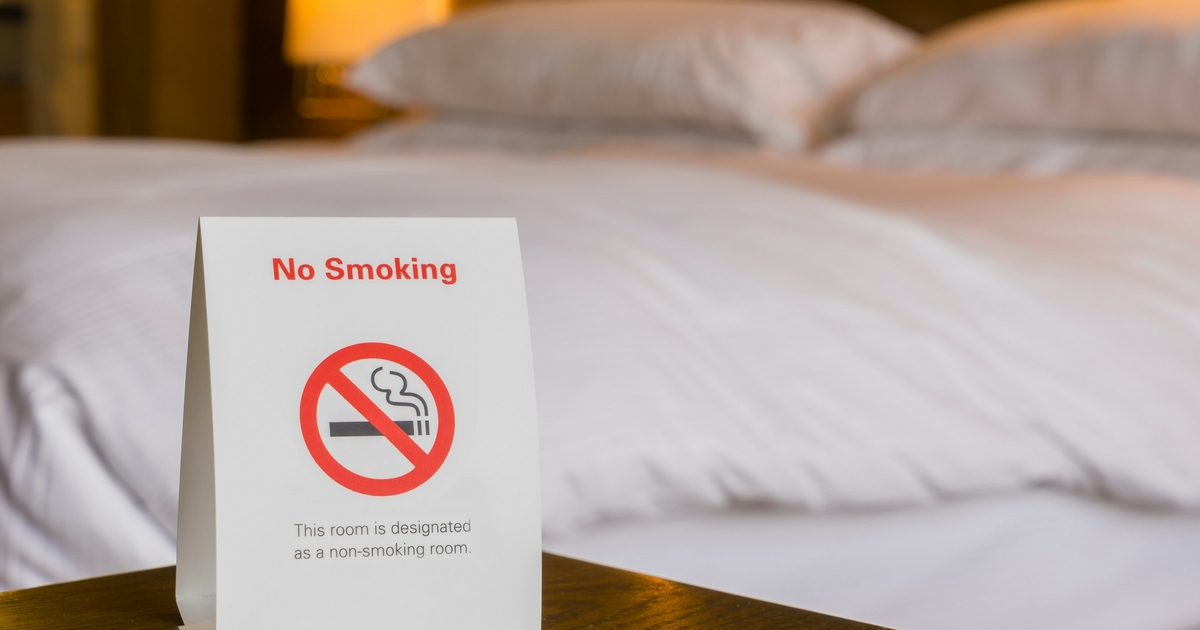 No Smoking - Hotel Damage Restoration in Utah - Utah Flood Cleanup