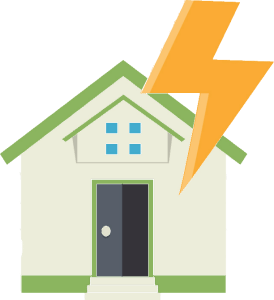 Lightning-House-Act-Of-God  5 Disasters Not Covered By Insurance lightning storm house