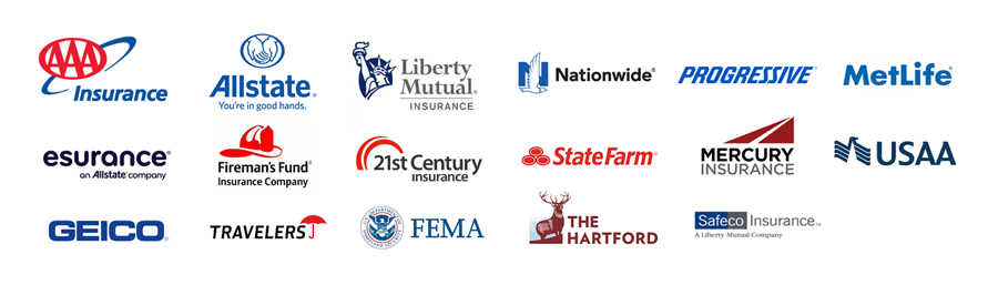 Insurance Provider Logos - Disaster Cleanup Services in Utah