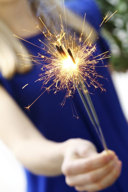 Woman Holding Sparklers  How To Avoid 4th of July Fires woman holding sparkler Firework Man Made Object Firework Display Sparkler People New Years Eve